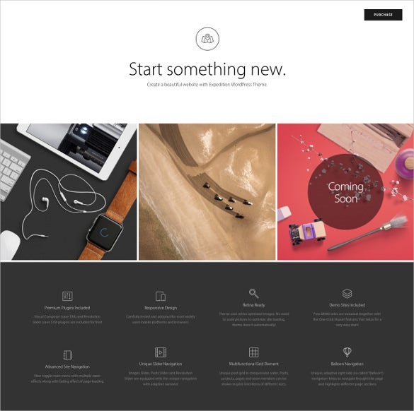 expedition creative wordpress theme