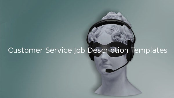 customerservicejobdescriptiontemplate