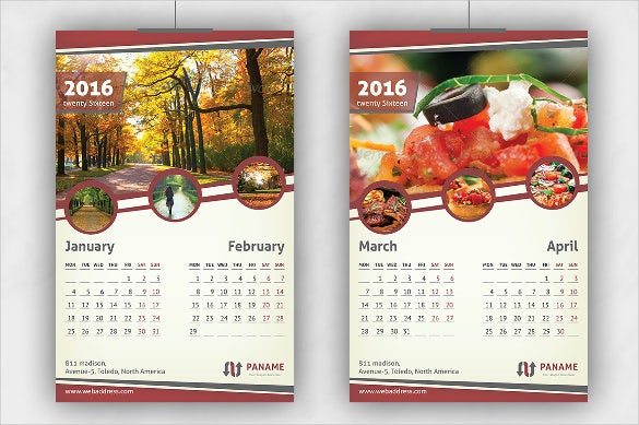16 Holiday Calendar Templates Free PSD Vector EPS PNG Format – Sample Calendar