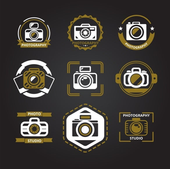 camera designed photography icons
