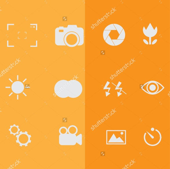 coloured background photography icon download