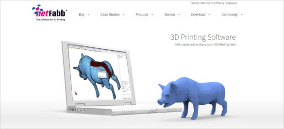 3d printing software template