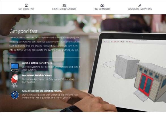 3d Download Software Design Template
