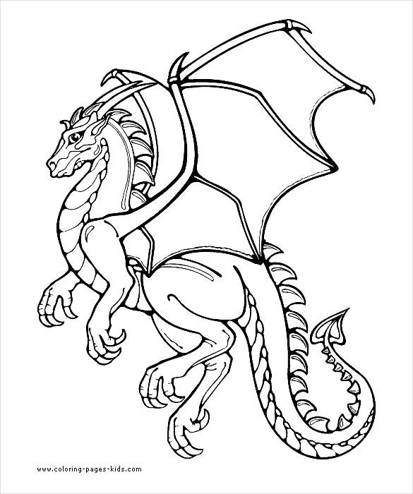 coloring pages kidscom download and use these flying dragon drawings for tattoos flyers posters or colouring pages for kids - Children Drawing Book Free Download