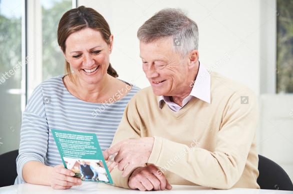 general retirement flyer template download