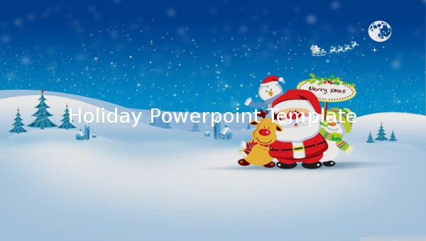 Holiday Powerpoint Template 14 Free Ppt Psd Format