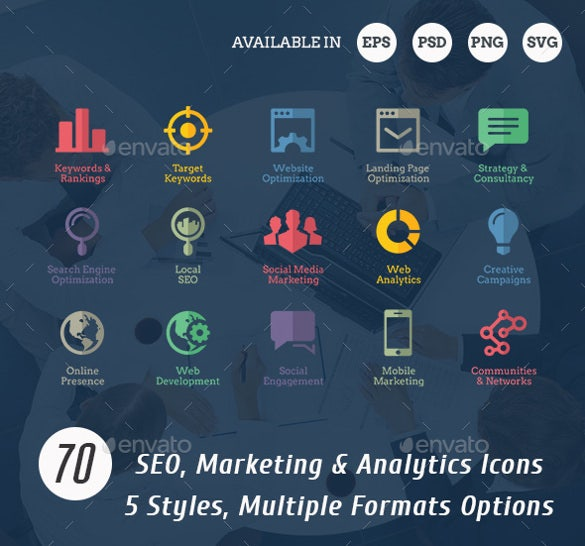 extensive seo icons download