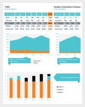 Sample Client Monthly SEO Report Template
