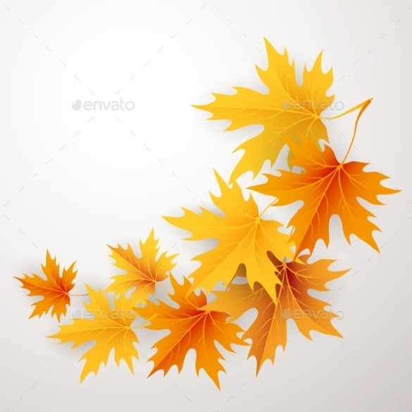 print ready fall background template