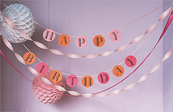 free printable banner templates - birthday banner template 23 free psd eps in design