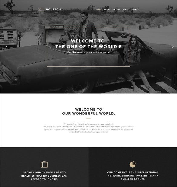 houston wordpress photo website theme