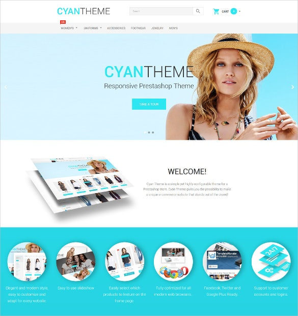 fashion boutique prestashop website theme