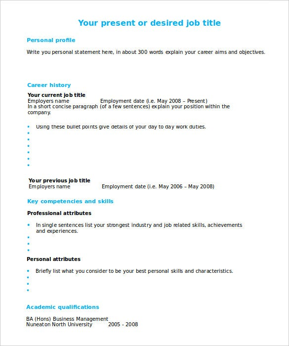 Create And Print Free Resume Create A Resume To Print Create And