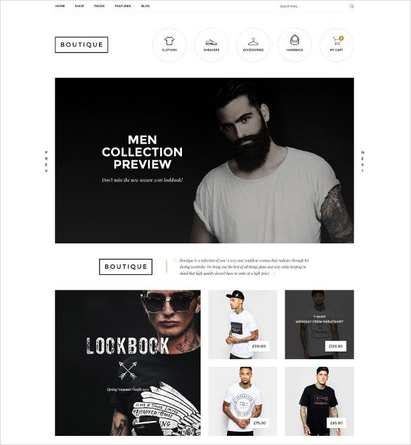 boutique woocommerce wordpress website theme
