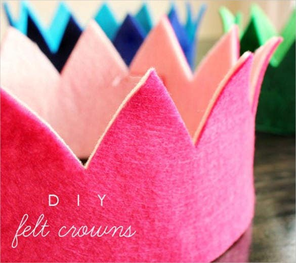 customized birthday crowns template1