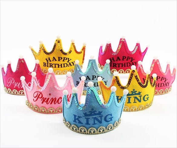 birthday party princess crown template
