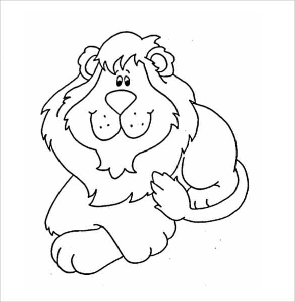 smiling lion free download