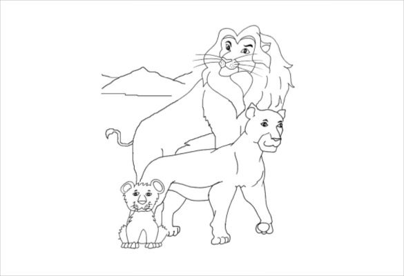 lion family free pdf download