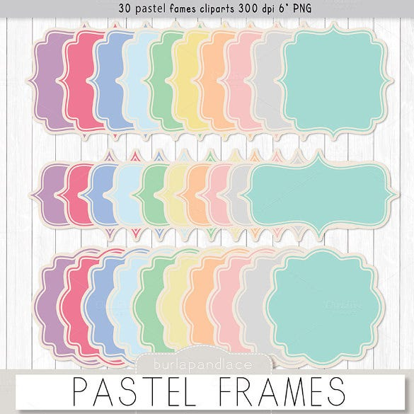 set of pastel background template for download