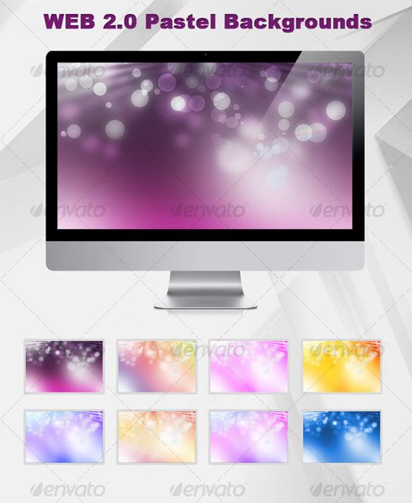 pastel background template for desktop