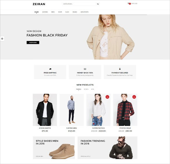 multipurpose responsive fashion woocommerce website theme
