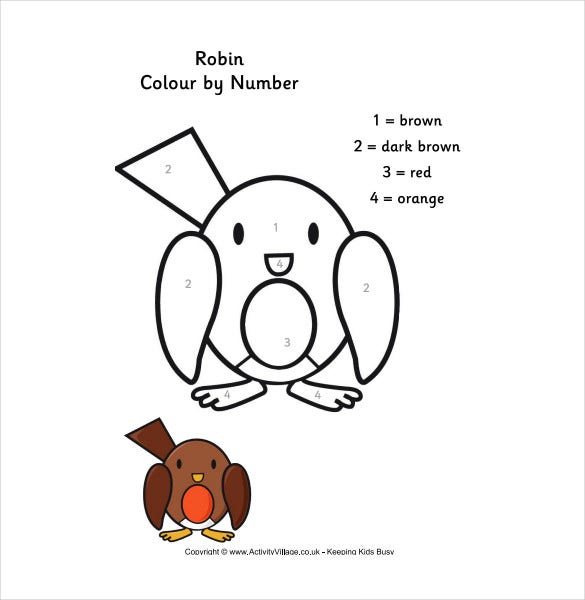 simple robin free pdf template