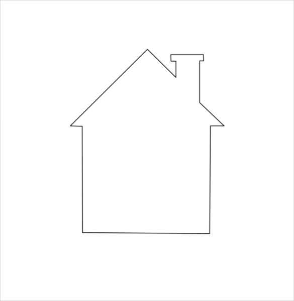 easy and simple drawing of house free pdf download - Kids Simple Drawing