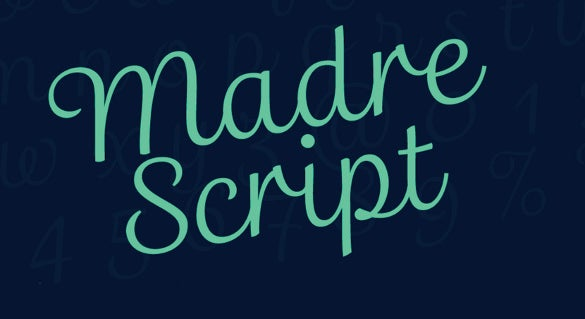 disney madre script a complete script font for your designs
