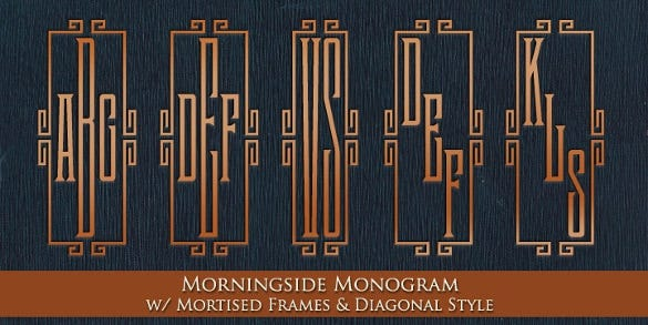 mfc morningside monogram font download