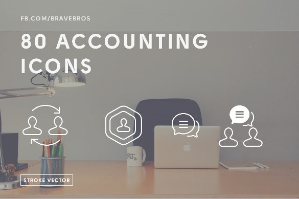 80 accounting icons download