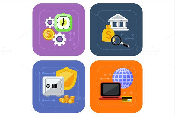 financial accounting icons download