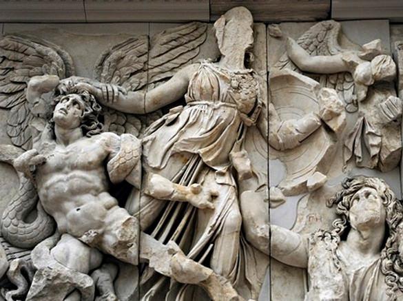 the pergamon altar 180 160bc