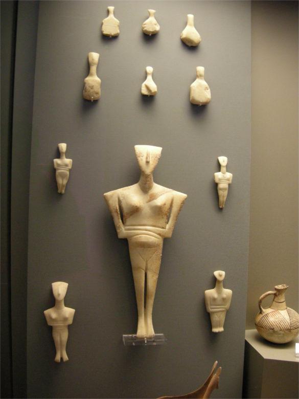 cycladic art 3300 1100 bce