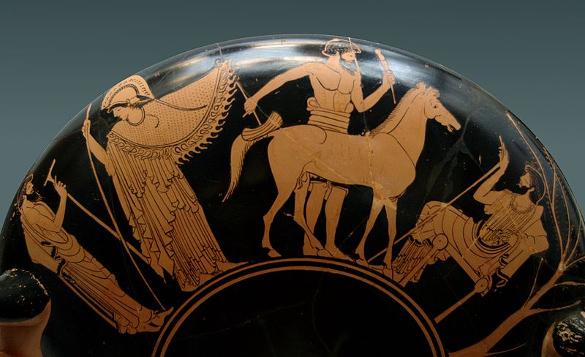 model of the trojan horse 480 bce