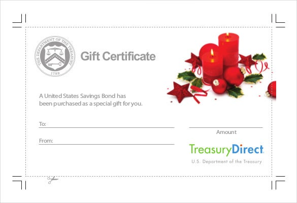 Free Download PDF Format Holiday Gift Certificate Template  Free Holiday Gift Certificate Templates