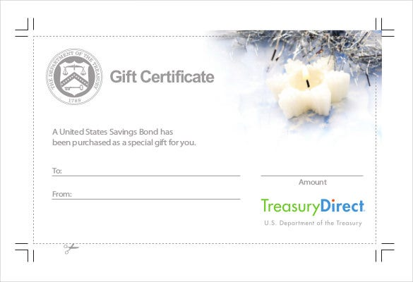 Holiday Gift Certificate Template 20 Free Pdf Jpg Psd Format