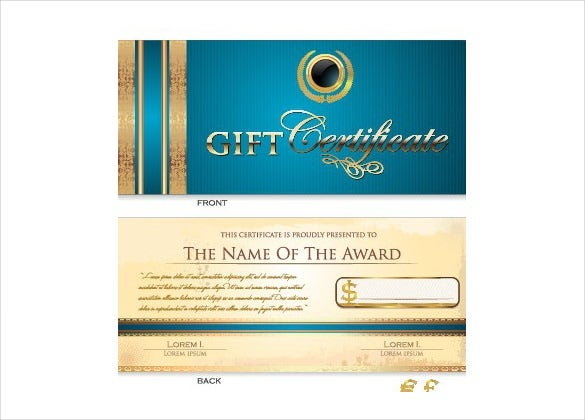 best gift certificate holiday template