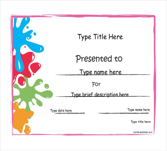 Achievement Award Template - 12+ Word, Pdf Documents Download