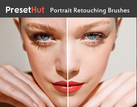 portrait retouching skin brushes