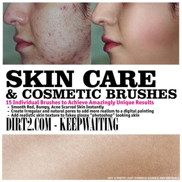 ready to use skin brush