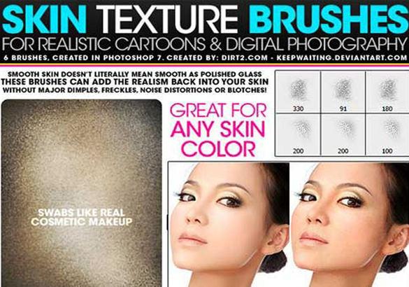 realistc skin brush