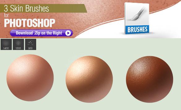 skin brushe for instant use