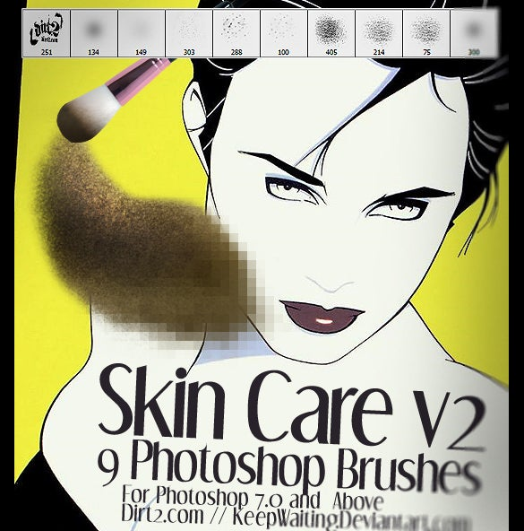 skin brush to edit skin tone