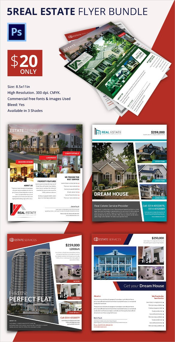 Free Real Estate Flyers Free Flyer Templates Oukasfo