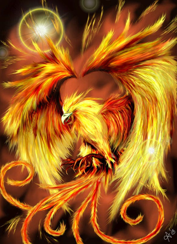 Saiya, The Half -Jinn [APPROVED; 1-5-] [hazard rating C] The-Phoenix-by-Shalaris-Shining-Bird