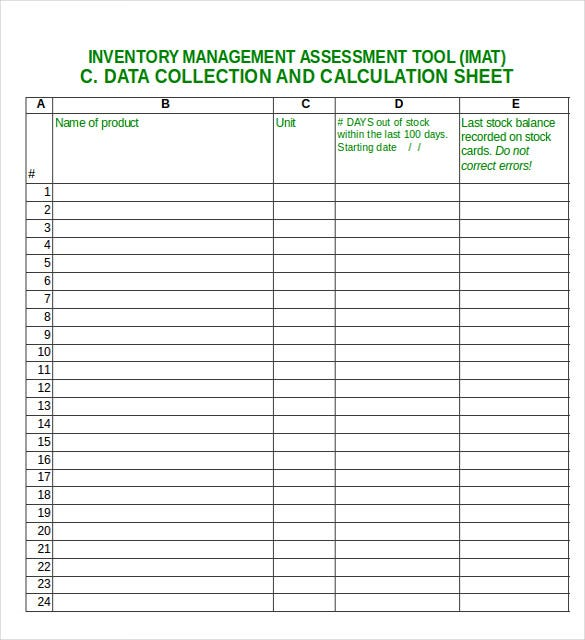 inventory management excel1