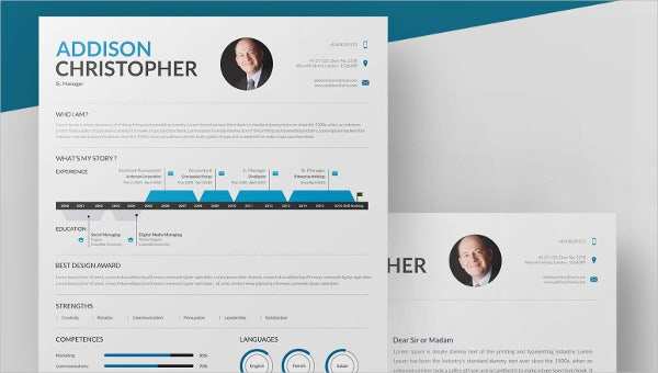 manager mockup template