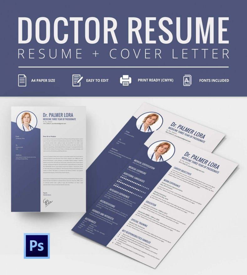 free editable resume templates 2015 creative psd doctor cover letter template