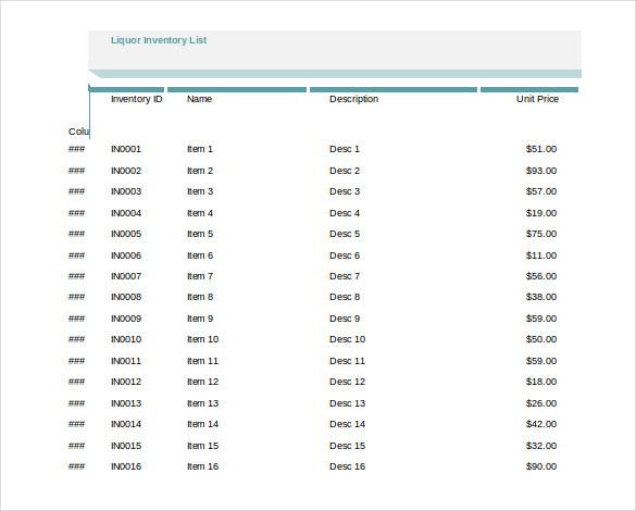 simple spreadsheet template