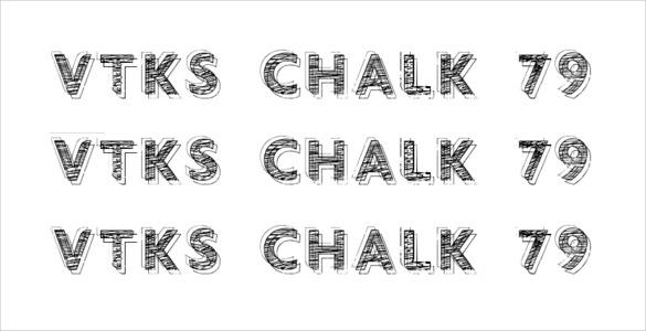vtks chalkboard font download